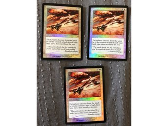 Global Ruin FOIL x3 - Invasion MTG Magic the Gathering