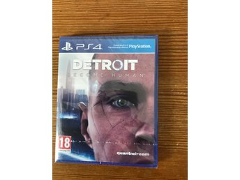 Detroit become humanPlaystation 4 nytt & inplastat