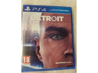 Detroit become human PS4 nyskick