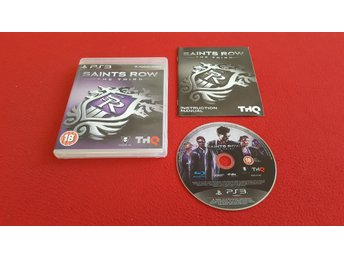 SAINTS ROW THE THIRD till Sony Playstation 3 PS3