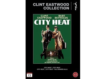 Clint Eastwood Collection City Heat 1984 DVD Action Komedi I PLAST