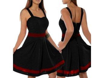 svart rockabilly klänning