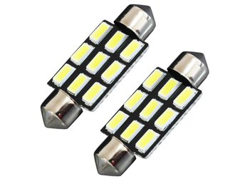 4 X DA39 39mm white 9 SMD5630 Festoon Car LED Lampor Map Dome Reading  Lamps