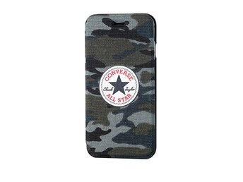 CONVERSE iPhone6 4,7 Booklet Camo Canvas