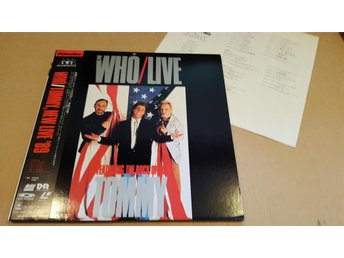 WHO, THE - LIVE TOMMY 2LD JAPAN LD