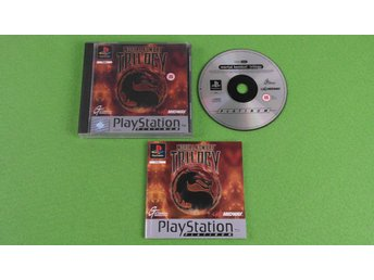 Mortal Kombat Trilogy KOMPLETT Playstation ps1