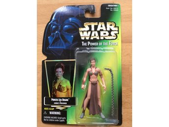 STAR WARS The Power of the Force Princess Leia Organa as Jabba's Prisoner