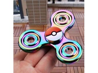 Fidget Spinner Pokemon Go Pikachu Pokeball Rainbow Exlusive Edition