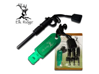 Elk Ridge - Firesteel + striker x 3 !