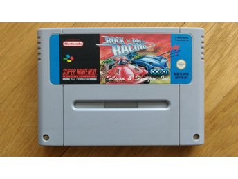 Super Nintendo/SNES: Rock n Roll Racing (UKV)
