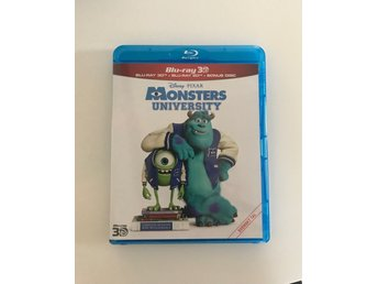 Disney Monsters university 3D