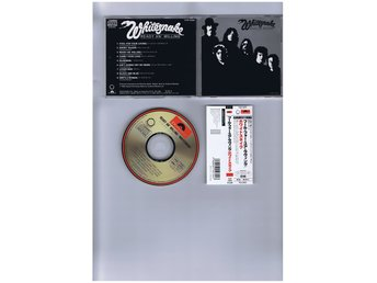 WHITESNAKE-Ready an´ willing(Overkligt bra hardrock platta!)JAP CD