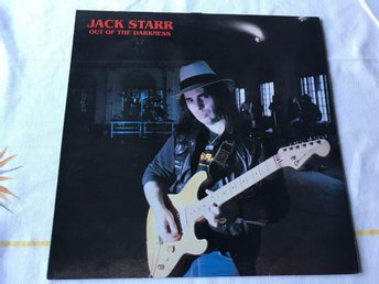 JACK STARR - OUT OF THE DARKNESS LP 1984