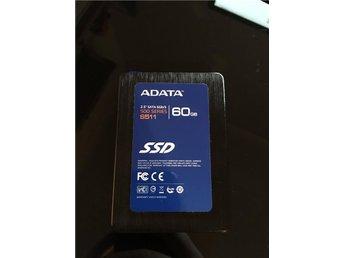 """Hårddisk 2,5"""" SSD ADATA 60gb - Gnesta - Hårddisk 2,5"""" SSD ADATA 60gb - Gnesta"""