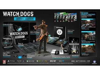 Watch Dogs Dedsec Edition XBOX ONE spel NYTT och INPLASTAT !!! - Nynäshamn - Watch Dogs Dedsec Edition XBOX ONE spel NYTT och INPLASTAT !!! - Nynäshamn