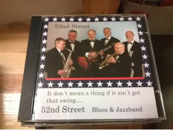 52nd Street Blues and Jazz Band, CD