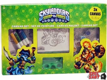 Skylanders Swap Force Canvas Set