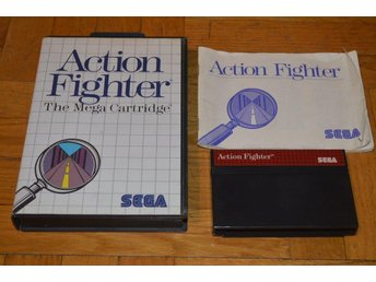 Action Fighter - Sega Master System