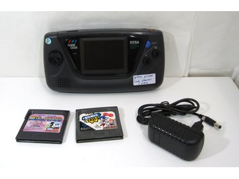 Game Gear, restaurerad men lite defekt