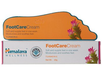 Himalaya Herbal Foot Care Cream 20g Moisturizes & Sooothes Feet