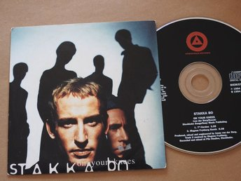 Stakka Bo - On Your Knees  CD Single 1994