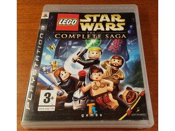 Lego Star Wars The Complete Saga - Komplett - PS3 / Playstation 3