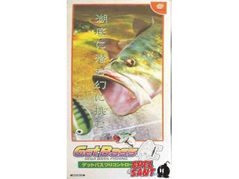Getbass Sega Bass Fishing (inkl. Fiskespö & Japansk Version)