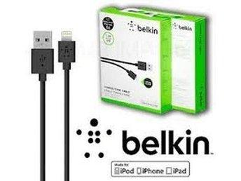 Javascript är inaktiverat. - Bagarmossen - Hög kvalitet Belkin 1,2m lightning Usb kabel för laddning/synkar din Iphone/Ipad/Ipod Postas Omgående via postnord,tar ca 2 arbetsdagar Endast Svart Belkin 1,2m Kabel. Tack!!!!!!!!!!!! - Bagarmossen