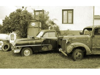 Old US Cars in Fårö No.2