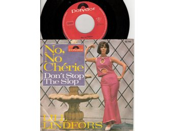 Lill Lindfors – No, No Cherie – German language 45