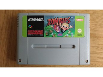 Super Nintendo/SNES: Zombies ate My Neighbours (svensksålt/SCN)