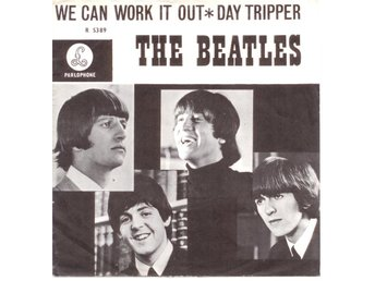 "BEATLES - We Can Work It Out  7"" Singel  Holland"