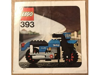 LEGO 393 (Norton 850 Commando) - Manual