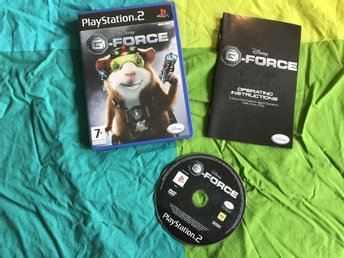 G-FORCE  PS2 PLAYSTATION 2 DISNEY