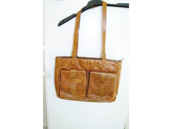 WERA väska axelrem clutch kuvertväska skinn läd.. (351668845