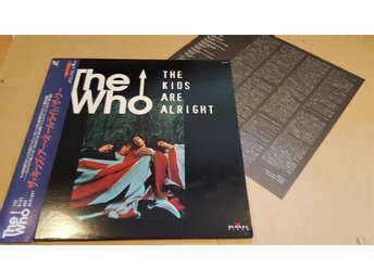 WHO, THE - THE KIDS ARE ALRIGHT JAPAN LD