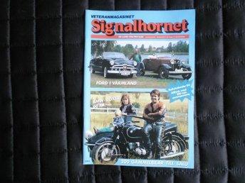 Signalhornet nr 4 1984 BMW boxer Ford Fairlane 1955 - åhus - Signalhornet nr 4 1984 BMW boxer Ford Fairlane 1955 - åhus