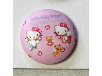HELLO KITTY. Badge ,nålmärke. diameter 25mm