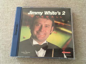 Jimmy White's 2 - Sega Dreamcast
