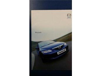 Mazda 6 2002/2003 - broschyr Mazda6 - Uppsala - Mazda 6 2002/2003 - broschyr Mazda6 - Uppsala