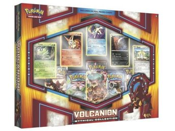 Pokemon Volcanion Mythical Collection - Kortspel