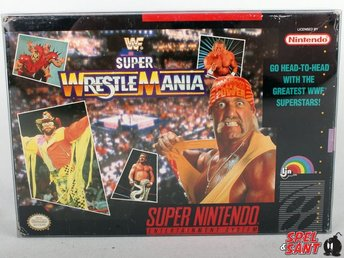 WWF Super Wrestlemania (inkl. Skyddsbox & Amerikansk Version)