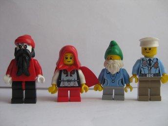 Lego Figurer Figur - 4st blandade Figurer - LF6-22 - Uddevalla - Lego Figurer Figur - 4st blandade Figurer - LF6-22 - Uddevalla