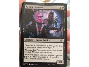 Magic the gathering aether poisoner
