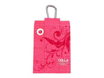 GOLLA Smart Bag Twister pink fit iPhone