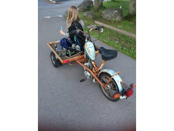 Flakmoped puch packy