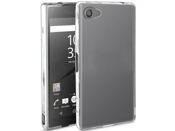 Xperia Z3 Compact Ultratunn TPU Skal Simple® Färg: Transparent