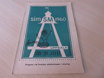 PROGRAM SIM-SM 1960 UPPSALA
