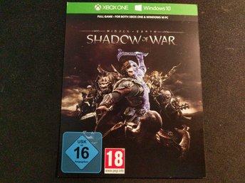 Javascript är inaktiverat. - Göteborg - En digital kopia av Shadow of War till Xbox One och Windows 10.Skickar bild på koden via mail så snart betalning är klart - Göteborg