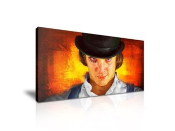 A CLOCKWORK ORANGE - CANVASTAVLA - (Malcolm McDowell, Kubrick)